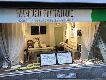 Renting out: Harjoittelustudio pianistille/muusikolle Kampissa
