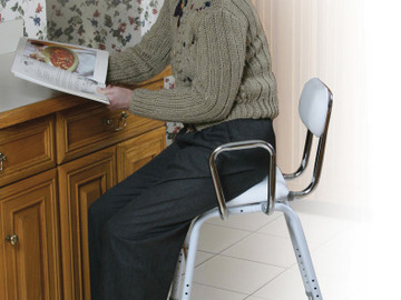 SALE: All-Purpose Stool with Adjustable Arms