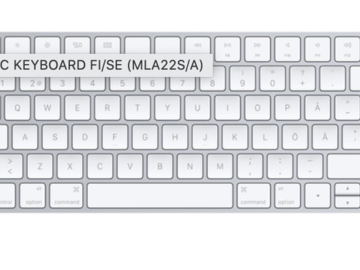 Myydään: Unopened new apple keyboard actual 100 euros