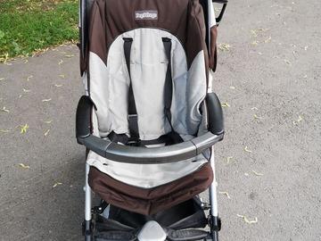 Myydään: PegPerego lightweight stroller (clean) €40
