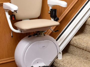 QUOTE: Stairlift installed in Chicago Residential Area