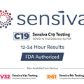 Professional Services: Sensiva COVID-19 RT-PCR 24-Hour Saliva / NP Swab Testing
