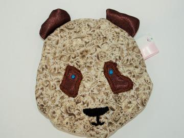 Vente au détail: Bouillotte sèche - petit panda marron floral