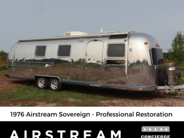 Trailer Sales: 1976 Airstream Sovereign 31 - Complete Restoration