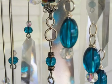Selling with online payment: Aqua Rainbow Suncatcher