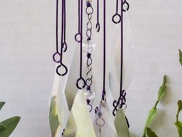 Selling with online payment: Purple Mini Rainbow Suncatcher