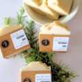 Selling with online payment: Rosemary Mint Coconut Milk Soap