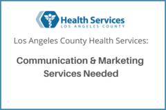 Procurement Listing: Marketing & Communication Services Needed