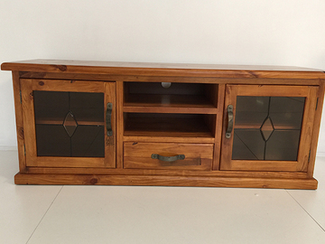For Sale: AMERICAN RUSTIC Wooden TV Unit----1.58m