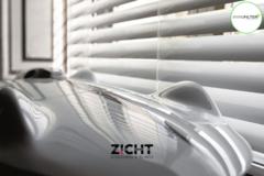 .: Horizontale aluminium jaloezieën   Door Zicht