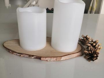 Ilmoitus: Led-kynttilöitä