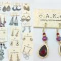 Buy Now: 50 Pair Designer Brand Earrings w/ Crystal Stones - No Two Alike