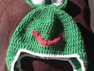 Vente au détail: Bonnet grenouille