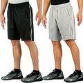 Buy Now: 120 Pairs Mens Active Shorts - Black/Grey - Sizes M,L,XL
