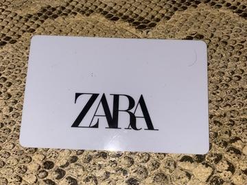 Vente: Carte cadeau Zara (109,95)