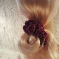 Selling with online payment: Velvet Hair Scrunchies