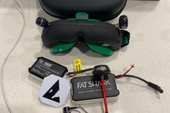 Selling: Fat Shark Attitude V5 FPV Goggles