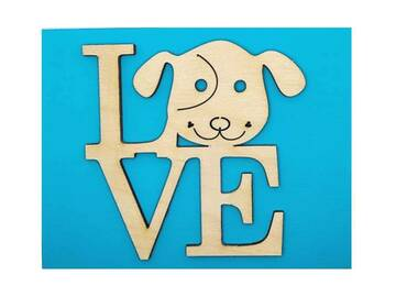 Selling: Dog LOVE Greeting Card