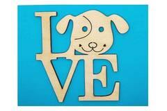 Selling: Dog LOVE Greeting Card