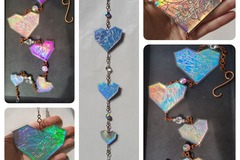 Selling with online payment: Crackled Hearts Mobile