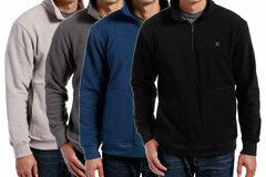 Buy Now: 48 Pieces Mens Half Zip Pullovers - 4 Colors