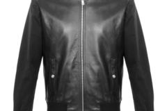 Buy Now: Genuine Leather Jackets by Keach, Black Bomber Style, 8 Units.