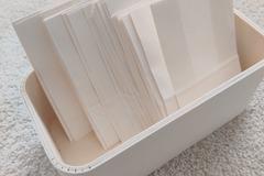 Ilmoitus: paperipussit karkkibuffettiin
