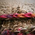 Vente au détail: Robe en fil d'alpaga à manches courtes