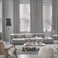 .: XL gordijnen voor living   Door Zicht