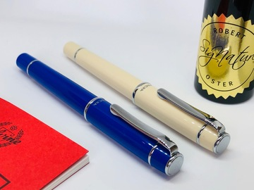 Renting out: Pilot Prera M stub nib (choice of blue or ivory)