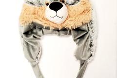 Buy Now: COZY ZONE – SHORT ARM WOLF ANIMAL HAT