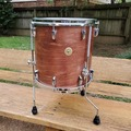 Selling with online payment: *GRETSCH* round badge  14x14 floor tom vintage style