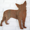 Selling: Rustic Chihuahua Reclaimed Wood Dog Wall Art
