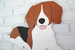Selling: Beagle Wood Dog Wall Art