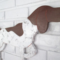 Selling: German Shorthaired Pointer Docked Tail Wood Dog Wall Art