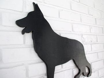 Selling: German Shepherd Wood Dog Wall Art