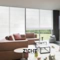 .: Vouwgordijnen voor living   Door Zicht