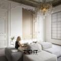 .: Vouwgordijnen voor klassieke stijl   Door Zicht