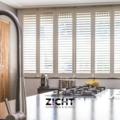 .: Shutters voor keuken   Door Zicht