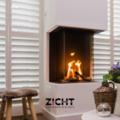 .: Shutters voor woonkamer   Door Zicht