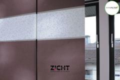 .: Paneelgordijnen met kleurcombinatie   Door Zicht
