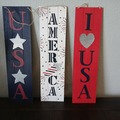 Buy Now: Patriotic hanging or leaning decor