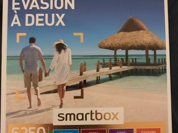 """Vente: Smartbox """"Évasion à deux"""" (69,90€)"""