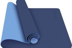 Buy Now:  5 PCS BLC Anti-Tear TPE Yoga Mat lightweight Anti-slip 6mm