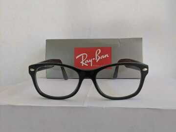 Other Item: Ray-Ban Eyeglasses Frame RB 1528 3542 48-16-130 Black Full Rim Pl