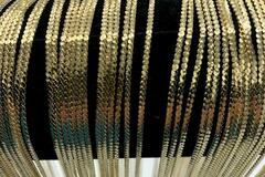 Buy Now: 50 Pcs Elegant  Herringbone Chains 14 kt Gold Plated - 24 inch