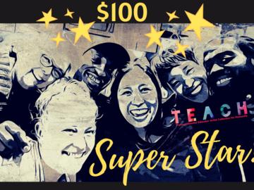Contribution: Membership Level: SUPERSTAR!