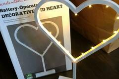 Ilmoitus: Sydämenmuotoiset led-valot