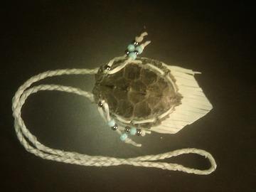 Selling: Map turtle medicine bag