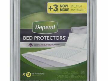 SALE: Depend Bed Protectors Pkg/12